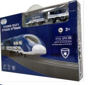 רכבת חשמלית 66 חלקים משטרה