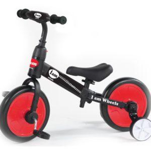 אופני איזון Iam וגלגלי עזר 2 ב 1 2
