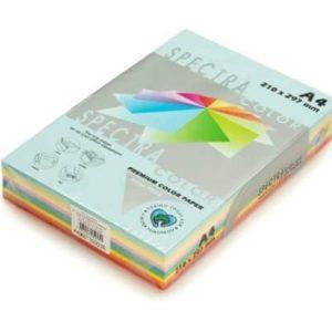 נייר צילום A4 10 גוונים מעורבים 160 גרם