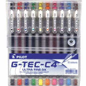 עט 0.4 מארז 10 צבעים
